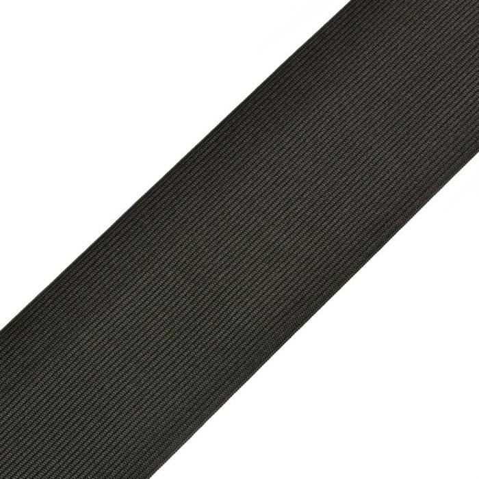 Резинка вязаная арт.ТВ-70мм цв.черный упак.40м - фото 238897