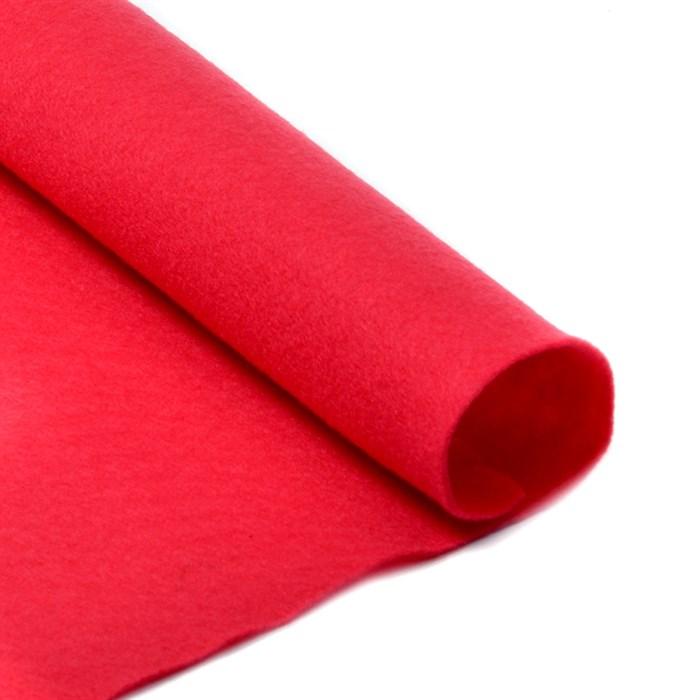 Фетр листовой мягкий IDEAL 1мм 20х30см арт.FLT-S1 уп.10 листов цв.610 красный - фото 243933