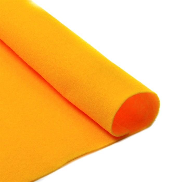 Фетр листовой мягкий IDEAL 1мм 20х30см арт.FLT-S1 уп.10 листов цв.640 апельсин - фото 243942