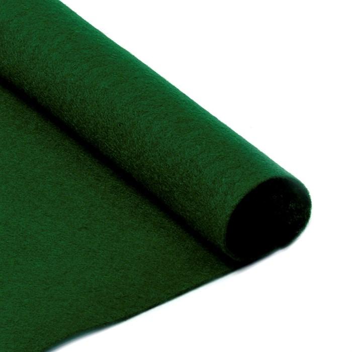 Фетр листовой мягкий IDEAL 1мм 20х30см арт.FLT-S1 уп.10 листов цв.667 т.зеленый - фото 243946