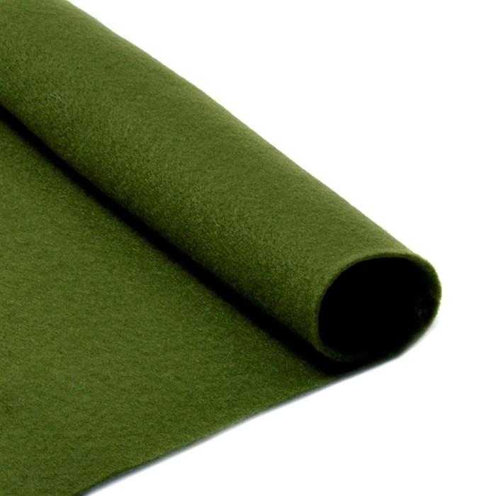 Фетр листовой мягкий IDEAL 1мм 20х30см арт.FLT-S1 уп.10 листов цв.663 болотный - фото 243947