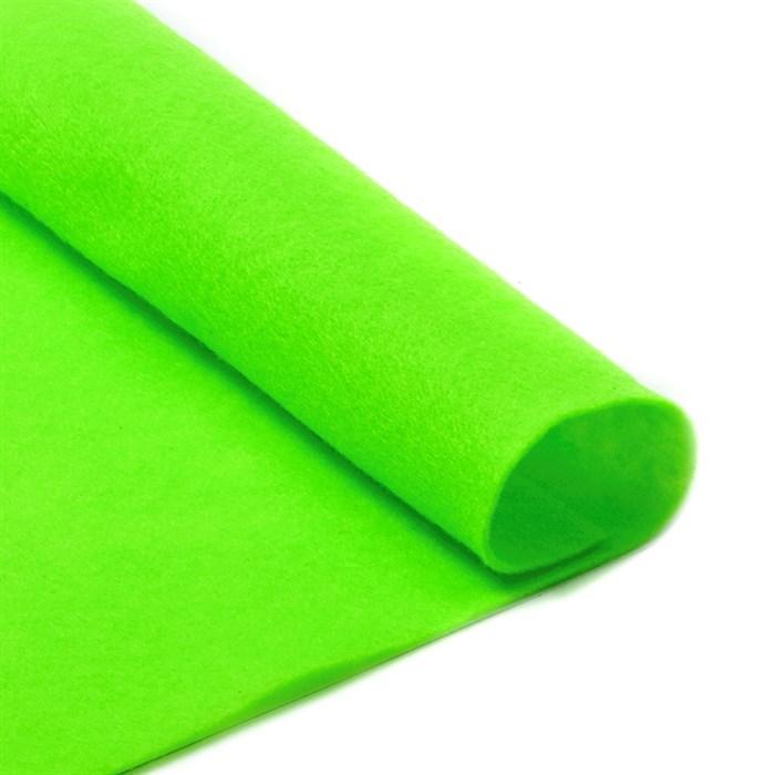 Фетр листовой мягкий IDEAL 1мм 20х30см арт.FLT-S1 уп.10 листов цв.674 салатовый - фото 243956