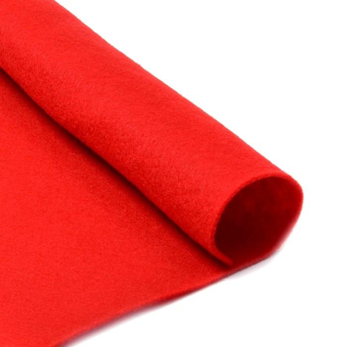 Фетр листовой мягкий IDEAL 1мм 20х30см арт.FLT-S1 уп.10 листов цв.601 красный - фото 243960
