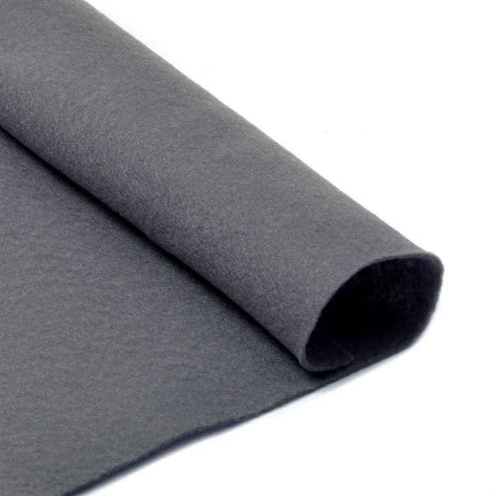 Фетр листовой мягкий IDEAL 1мм 20х30см арт.FLT-S1 уп.10 листов цв.694 серый - фото 243961