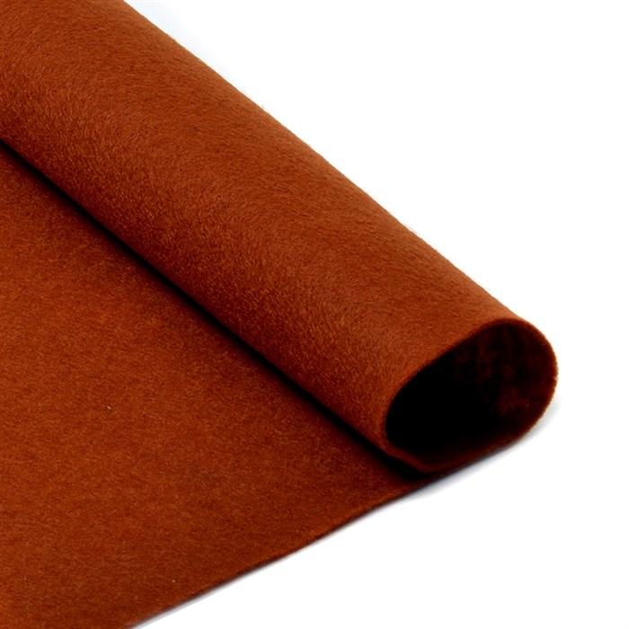 Фетр листовой мягкий IDEAL 1мм 20х30см арт.FLT-S1 уп.10 листов цв.692 коричневый - фото 243962