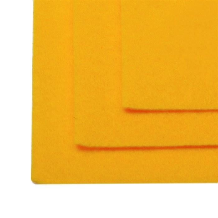 Фетр листовой жесткий IDEAL 1мм 20х30см арт.FLT-H1 уп.10 листов цв.640 апельсин - фото 243976