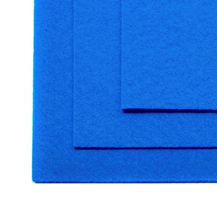 Фетр листовой жесткий IDEAL 1мм 20х30см арт.FLT-H1 уп.10 листов цв.683 василек - фото 243984