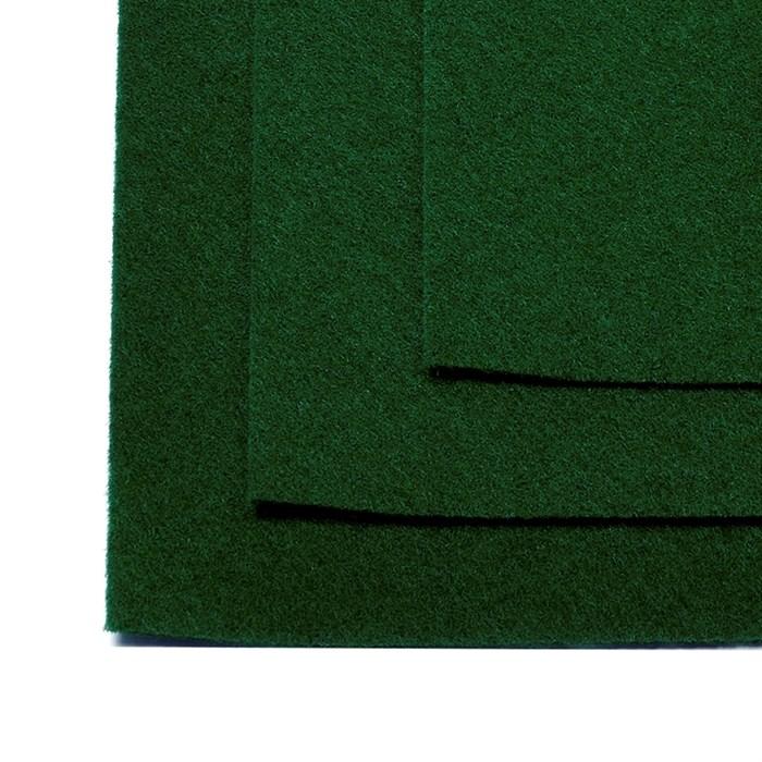 Фетр листовой жесткий IDEAL 1мм 20х30см арт.FLT-H1 уп.10 листов цв.678 зеленый - фото 243986