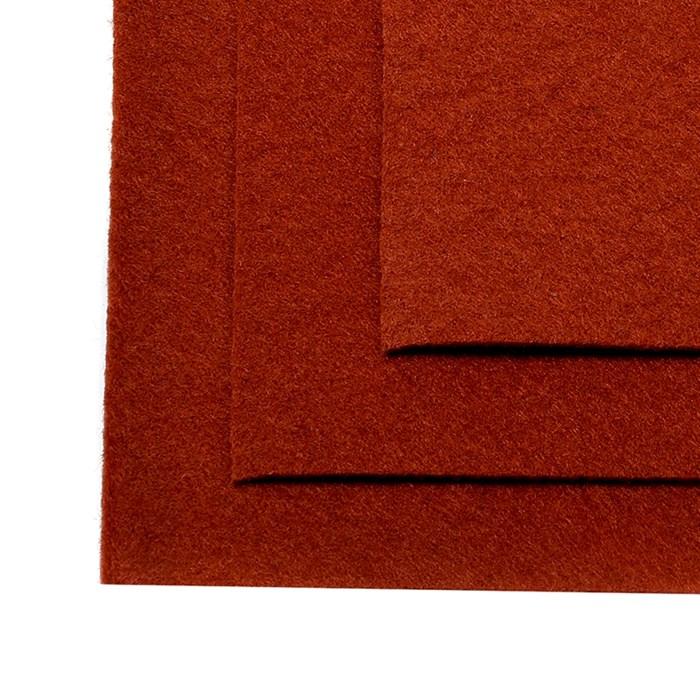 Фетр листовой жесткий IDEAL 1мм 20х30см арт.FLT-H1 уп.10 листов цв.692 св.коричневый - фото 243990