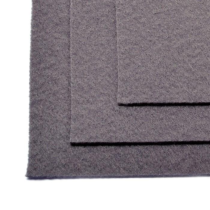 Фетр листовой жесткий IDEAL 1мм 20х30см арт.FLT-H1 уп.10 листов цв.694 серый - фото 243991
