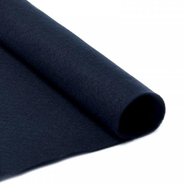 Фетр в рулоне мягкий IDEAL 1мм 100см арт.FLT-S2 цв.655 черный (отрез 1 метр) - фото 245020