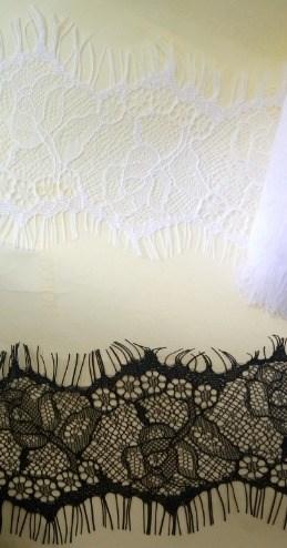 """Кружево """"реснички"""" арт.KRK-73199 шир.65мм цв.черный уп.3м - фото 245570"""