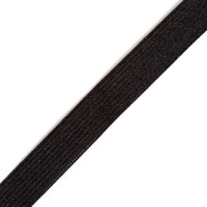 Резинка вязаная арт.ТВ-15мм цв.черный упак.40м