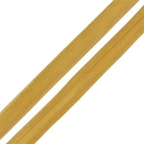 Косая бейка,атлас.15мм арт.КБ.15.126 цв.126 желто-коричневый  A