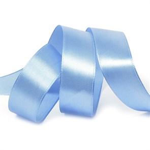 Лента атласная 1' (25мм) цв.3103 яр.голубойIDEAL уп.27,4 м