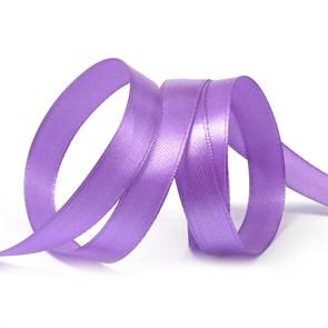 Лента атласная 1/2' (12мм) цв.3116 т.фиолетовый IDEAL уп.27,4 м