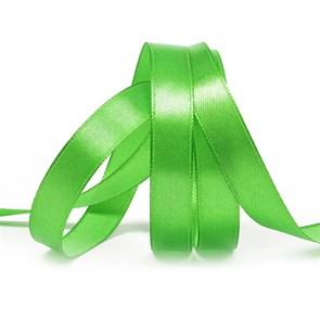 Лента атласная 1/2' (12мм) цв.3041 зеленый IDEAL уп.27,4 м