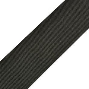 Резинка вязаная арт.ТВ-70мм цв.черный упак.40м