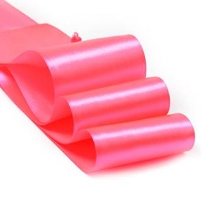 """Лента атласная 3"""" (75мм) цв.3080 яр.розовый IDEAL уп.27,4 м"""