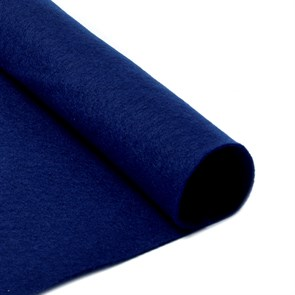 Фетр листовой мягкий IDEAL 1мм 20х30см арт.FLT-S1 уп.10 листов цв.673 т.синий