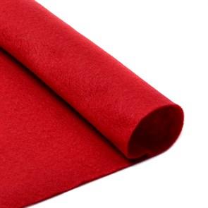 Фетр листовой мягкий IDEAL 1мм 20х30см арт.FLT-S1 уп.10 листов цв.607 т.красный