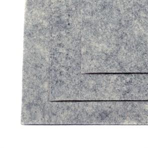 Фетр листовой жесткий IDEAL 1мм 20х30см арт.FLT-H1 уп.10 листов цв.657 мрамор