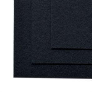 Фетр листовой жесткий IDEAL 1мм 20х30см арт.FLT-H1 уп.10 листов цв.655 черный