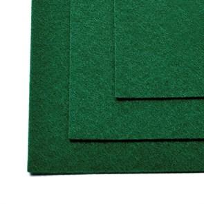 Фетр листовой жесткий IDEAL 1мм 20х30см арт.FLT-H1 уп.10 листов цв.667 т.зеленый