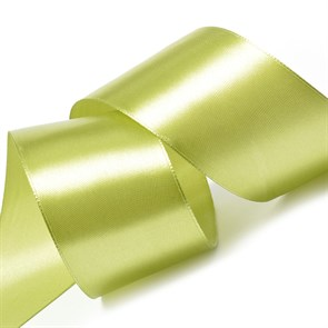 "Лента атласная 2"" (50мм) цв.3146 св.оливковый IDEAL уп.27,4 м"
