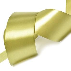 "Лента атласная 2"" (50мм) цв.3142 оливковый IDEAL уп.27,4 м"