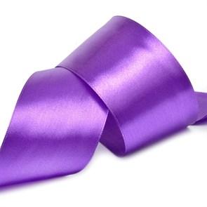 """Лента атласная 2"""" (50мм) цв.3118 фиолетовый IDEAL уп.27,4 м"""