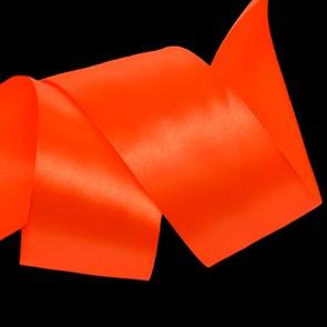 """Лента атласная 2"""" (50мм) цв.3070 оранжевый IDEAL уп.27,4 м"""
