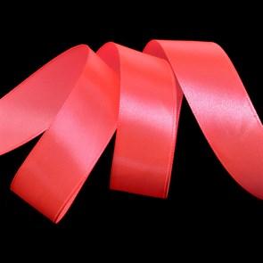 """Лента атласная 1"""" (25мм) цв.3079 яр.розовый IDEAL уп.27,4 м"""