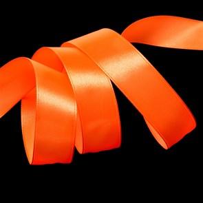 """Лента атласная 1"""" (25мм) цв.3070 оранжевый IDEAL уп.27,4 м"""