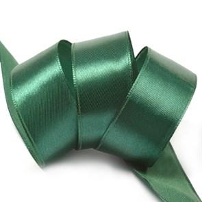 """Лента атласная 1"""" (25мм) цв.3047 т.зеленый IDEAL уп.27,4 м"""