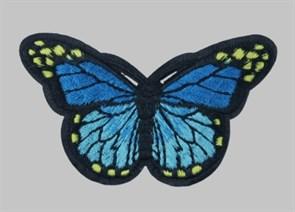 Термоаппликации арт.KT #4-65 Бабочка 78х42мм уп.5 шт