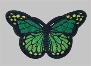 Термоаппликации арт.KT #4-66 Бабочка 78х42мм уп.5 шт