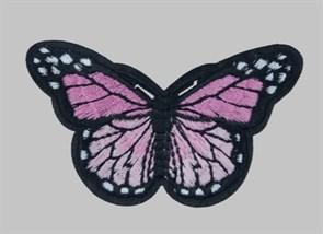Термоаппликации арт.KT #4-67 Бабочка 78х42мм уп.5 шт