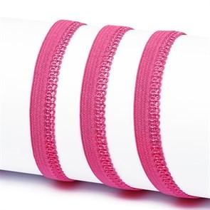 Резинка TBY бельевая 10мм арт.RB03144 цв.F144 ярк.розовый уп.100м