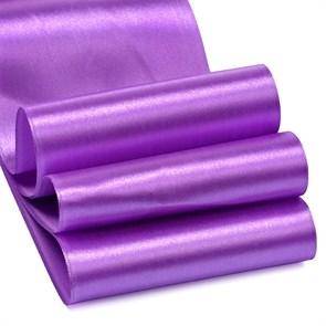 """Лента атласная 4"""" (100мм) цв.3116 т.фиолетовый IDEAL уп.27,4 м"""