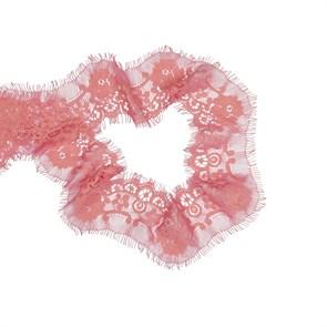 "Кружево ""реснички"" арт.TBY.76006 шир.80мм цв.137 розовый уп.3м"