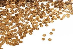 Пайетки плоские россыпью Ideal ТВY-FLK022 6мм цв.140 медь уп.50гр
