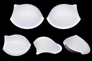 Чашечки корсетные AC-50.78m с эффектом push-up р.80 цв. белый (пара)