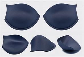 Чашечки корсетные CC-55.19m с эффектом push-up р.80 цв. сапфир (пара)