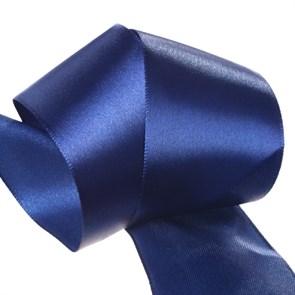 """Лента атласная 2"""" (50мм) цв.3165 синий IDEAL уп.27,4 м"""