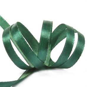 """Лента атласная 1/4"""" (6мм) цв.3047 т.зеленый IDEAL уп.27,4 м"""