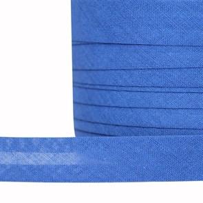 Косая бейка хлопок TBY арт.CB15 шир.15мм цв.F223 синий уп.132 м