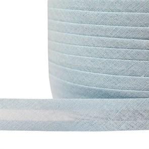 Косая бейка хлопок TBY арт.CB15 шир.15мм цв.F184 св.голубой уп.132 м