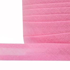 Косая бейка хлопок TBY арт.CB15 шир.15мм цв.F141 розовый уп.132 м