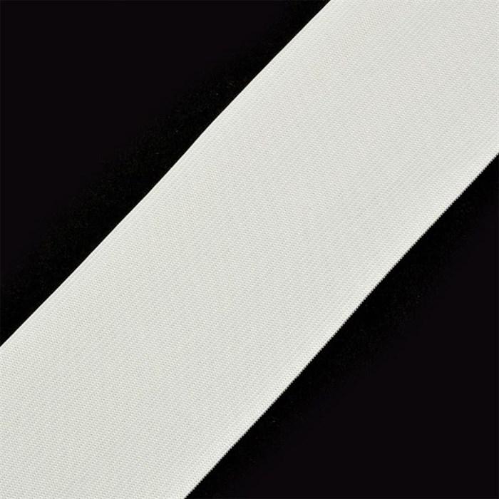 Резинка вязаная шир.080мм цв.белый арт.Ф-80мм упак.50м - фото 157860